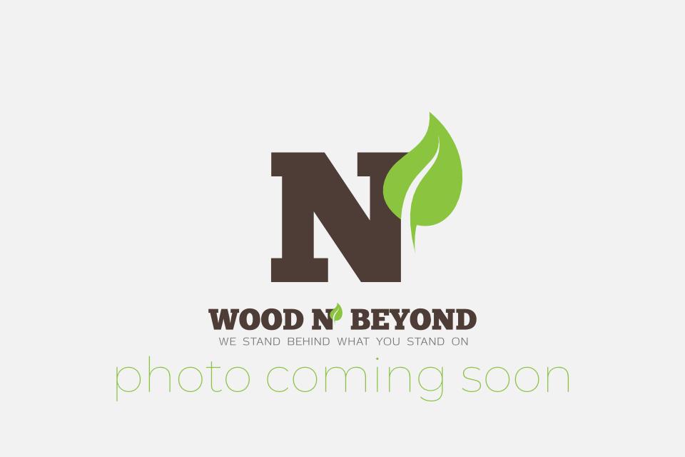 Solid Hardwood Walnut Pipe Cover Varnished