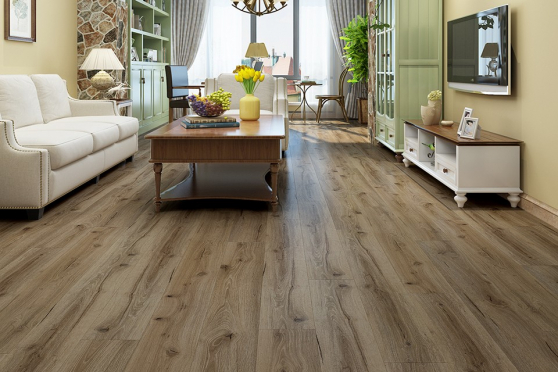 Luxury Click Vinyl Rigid Core Flooring Adobe Sand 4.2mm By 178mm By 1220mm VL024 5