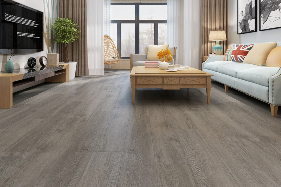 Luxury Click Vinyl Rigid Core Flooring Orion Grey 4.2mm By 178mm By 1220mm VL019 0