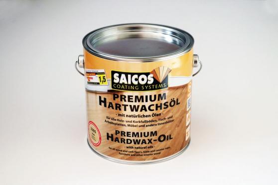 Premium Clear Matt Hardwax Oil 2.5Lts AC3305 1