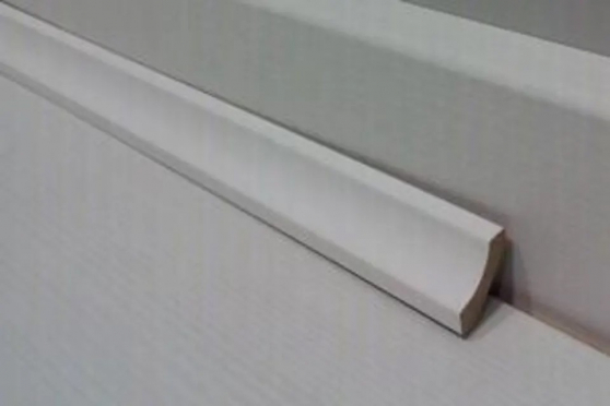White MDF Scotia Beading 16mm by 16mm by 2400mm AC6047 3