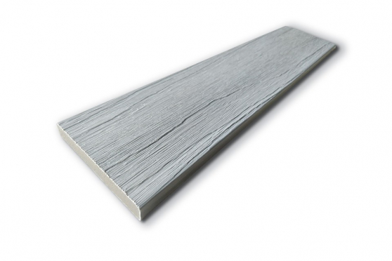 Fascia Decking Composite Patina Grey 11mm By 71mm By 2400mm DC022-2400 0