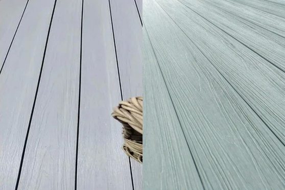 Supremo WPC Double Face Composite Decking Boards Patina & Mouse Grey 23mm By 135mm By 2400mm DC025-2400 0