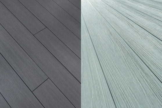 Supremo WPC Double Face Composite Decking Boards Bazelet & Mouse Grey 23mm By 135mm By 2400mm DC027-2400 1