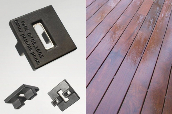 Decking Clips for Ipe and Balau Hidden Fixing Boards AC051 1