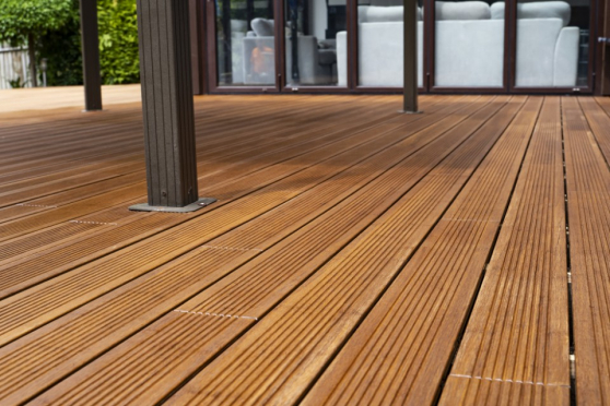 Dasso Bamboo Ctech Hardwood Decking Boards Using Hidden Fixing 18mm By 137mm By 1850mm DK072-1850 0