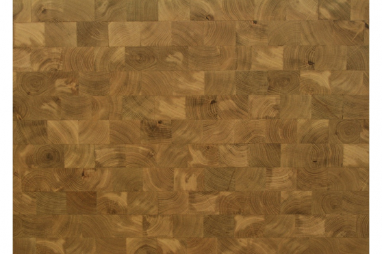 End Grain Oak Worktop 40mm By 1000mm By 1970mm