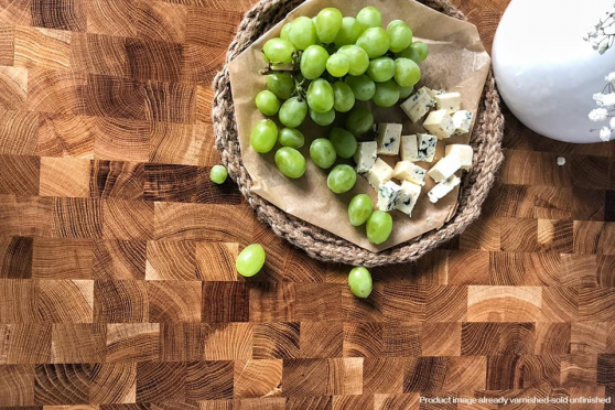 End Grain Oak Worktop 40mm By 1000mm By 2000mm WT813 4
