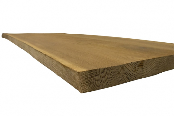 European Oak Table Brushed Smoked 40mm By 750mm By 1250mm TB012 1