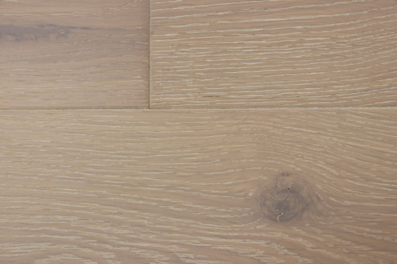 Natural Engineered Flooring Oak London White Brushed UV Oiled 14/3mm By 190mm By 400-1500mm