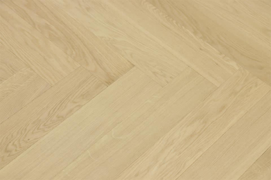 Prime Engineered Flooring Oak Herringbone Non Visible Brushed UV Matt Lacquered 14/3mm By 98mm By 588mm FL3149 1