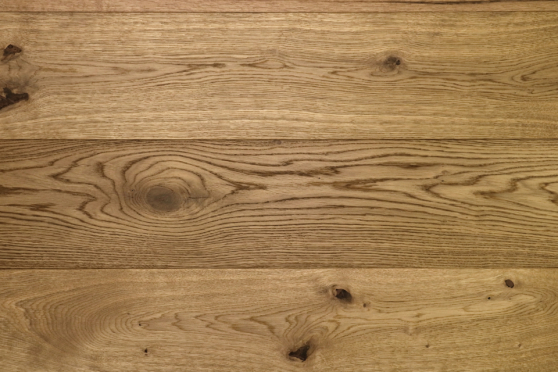 Natural Engineered Flooring Oak Click VIP Smoked Brushed UV Oiled 14/3mm By 190mm By 1900mm FL3406 1
