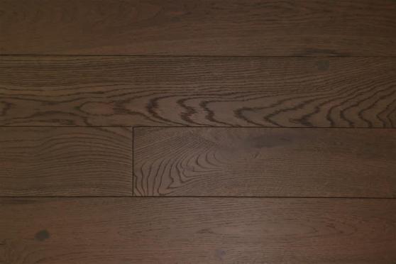 Rustic Engineered Flooring Oak Coffee Brushed UV Oiled 14/3mm By 150mm By 400-1500mm FL3481 1