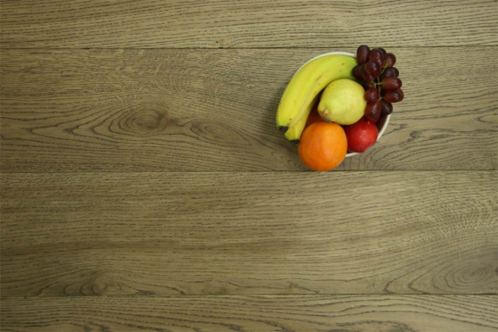 Prime Engineered Flooring Oak Cognac Brushed UV Lacquered 14/3mm By 150mm By 400-1500mm