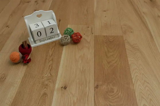 Natural Engineered Flooring Oak Modena Brushed UV Oiled 15/4mm By 250mm By 1800-2200mm GP135 19