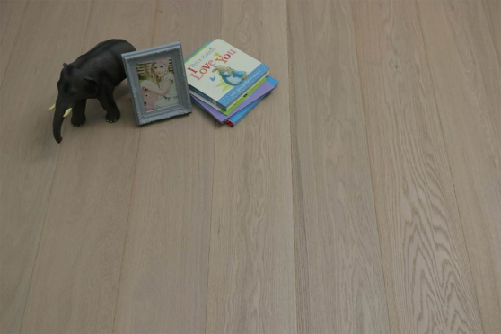 Prime Engineered Oak Click Paris White Brushed UV Oiled 14/3mm By 190mm By 1900mm FL1803 1
