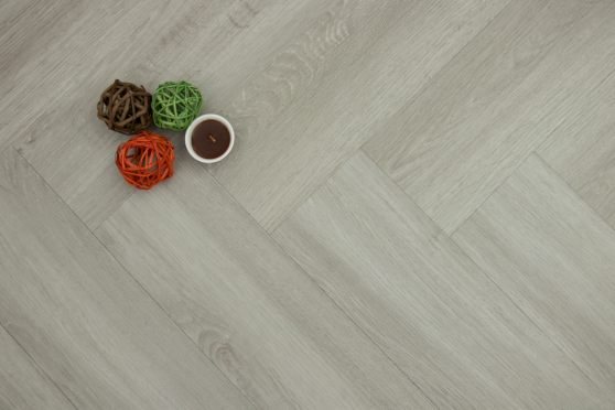 Luxury Click Vinyl Rigid Core Herringbone Flooring Graphite 6mm By 127mm By 610mm (include 1mm underlay) VL060 0