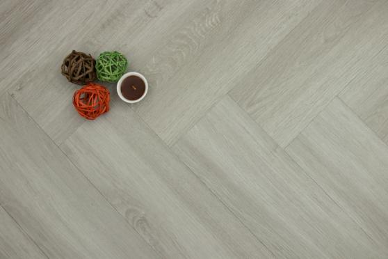 Luxury Click Vinyl Rigid Core Herringbone Flooring Graphite 6mm By 127mm By 610mm (include 1mm underlay) VL060 0