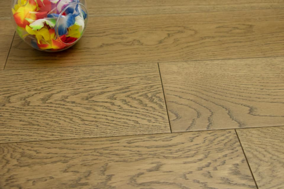 Prime Engineered Flooring Oak Cognac Brushed UV Lacquered 14/3mm By 150mm By 400-1500mm FL4058 1