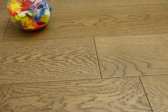 Prime Engineered Flooring Oak Cognac Brushed UV Oiled 14/3mm By 190mm By 400-1500mm FL4060 2