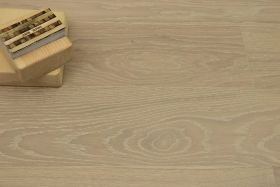 Prime Engineered Flooring Oak Click Sunny White Brushed UV Oil 14/3mm By 195mm By 1000-2400mm GP020 5