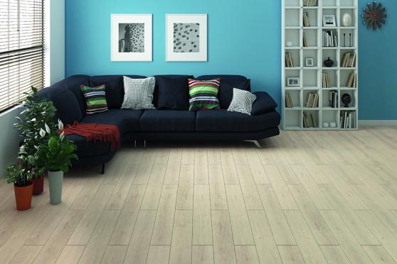 Light Moon Oak Laminate Flooring 8mm By 195mm By 1380mm LM017 1