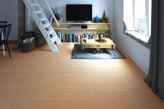 Algerian Natural Oak Laminate Flooring 8mm By 193mm By 1380mm