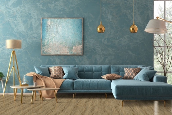 Luxury Click Vinyl Rigid Core Flooring Supremo Royal Nature 6mm By 228mm By 1520mm( include 1mm underlay) VL040 0