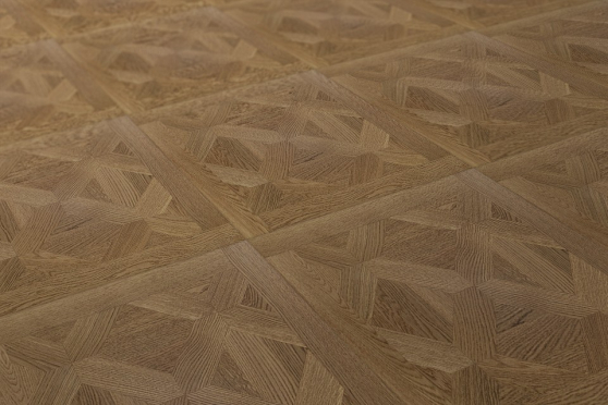 Prime Engineered Flooring Versailles Oak M105 UV Lacquered 15/3.3mm By 600mm By 600mm VS001 1