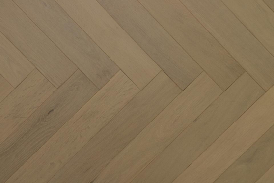 Natural Engineered Flooring Oak Herringbone Desert UV Oiled 15/4mm By 90mm By 600mm FL2916 1