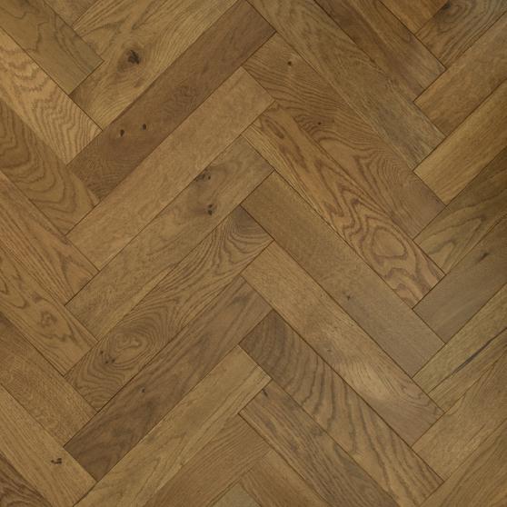Natural Engineered Flooring Oak Herringbone Roma Brushed UV Oiled 15/4mm By 125mm By 600mm FL3989 1