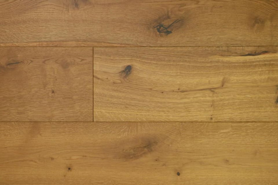 Natural Engineered Flooring Oak Light Smoked Brushed UV Oiled 15/4mm By 260mm By 2200mm