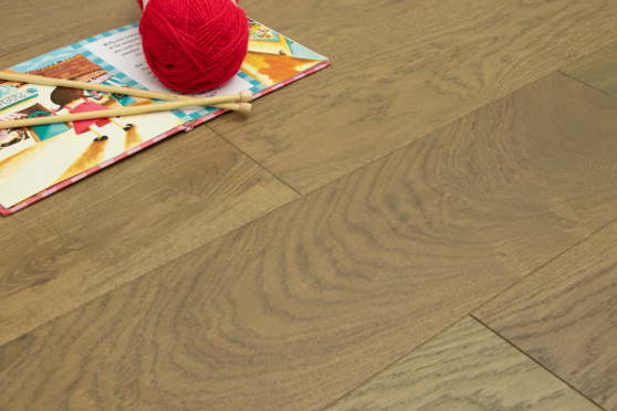 Prime Engineered Flooring Oak Roma Brushed UV Oiled 14/3mm By 190mm By 400-1500mm FL4062 1