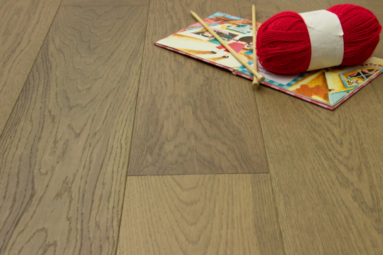 Prime Engineered Flooring Oak Roma Brushed UV Oiled 14/3mm By 150mm By 400-1500mm
