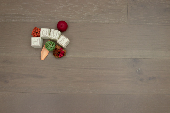 Natural Engineered Flooring Oak Summer Grey Brushed UV Oiled 14/3mm By 190mm By 1900mm FL1271 5