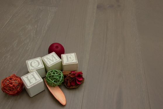Natural Engineered Oak Summer Grey UV Oiled 15/4mm By 220mm By 2200mm FL1498 1