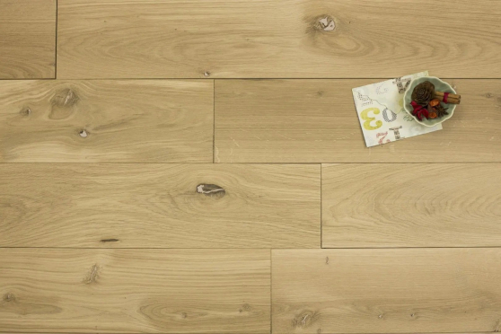 Natural Engineered Flooring Oak Unfinished 15/3mm By 180mm By 1600-2400mm GP214 1
