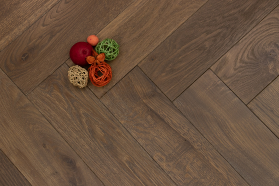 Natural Engineered Flooring Oak Herringbone New Cemento Wax Oiled 16/4mm By 120mm By 580mm HB071 5