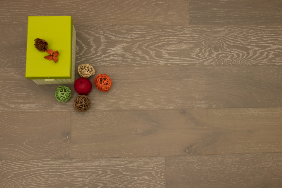 Natural Engineered Flooring Oak Stormy Grey Brushed UV Lacquered 10/3mm By 150mm By 1200mm FL3562 3