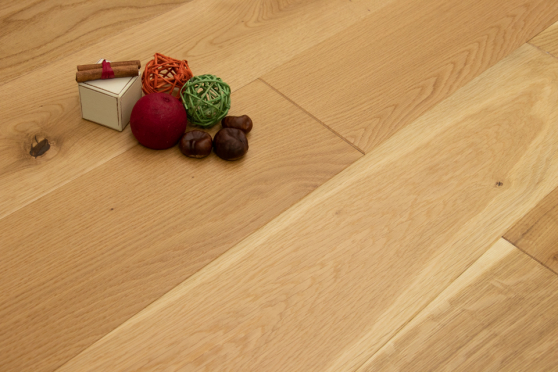 Natural Solid Flooring Oak Semi Matt Lacquered 20mm By 140mm By 500-2200mm FL2942 8