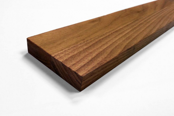 Premium American Walnut Kitchen Worktop Upstand 18mm By 80mm By 3000mm WT228 1