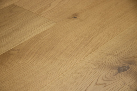Prime Engineered Flooring Oak Brushed UV Semi Matt Lacquered 14/3mm By 178mm By 1000-2400mm GP257 1