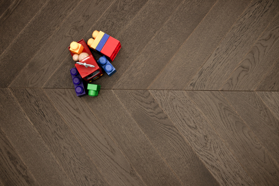 Prime Engineered Flooring Oak Chevron Bologna Brushed UV Matt Lacquered 14/3mm By 98mm By 547mm FL3435 6