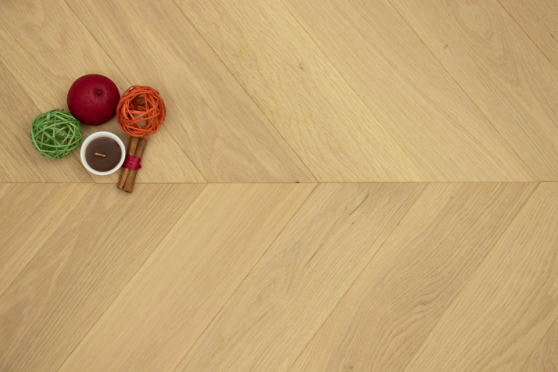 Prime Engineered Flooring Oak Chevron Ribolla Brushed UV Matt Lacquered 14/3mm By 98mm By 547mm FL3667 6