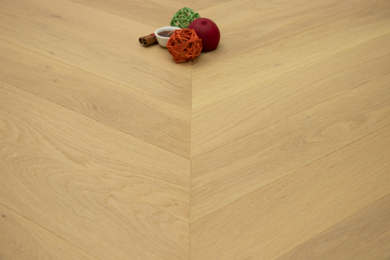 Prime Engineered Flooring Oak Chevron Ribolla Brushed UV Matt Lacquered Eco 14/3mm By 98mm By 650mm FL4102 0