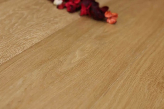 Prime Engineered Flooring Oak Click Light Brushed UV Oiled 13/3.5mm By 198mm By 790-2400mm GP230 1