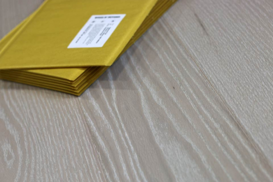 Prime Engineered Flooring Oak Click Polar White Brushed UV Oiled 15/4mm By 189mm By 1860mm FL1891 1