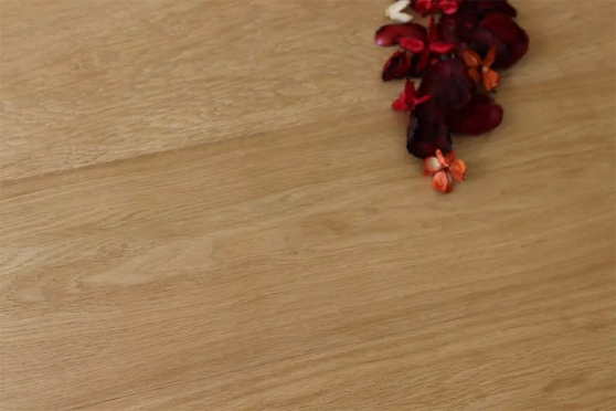 Prime Engineered Flooring Oak Click Smoked Coloured Brushed UV Semi Matt Lacquered 14/3mm By 146mm By 800-1805mm GP213 1