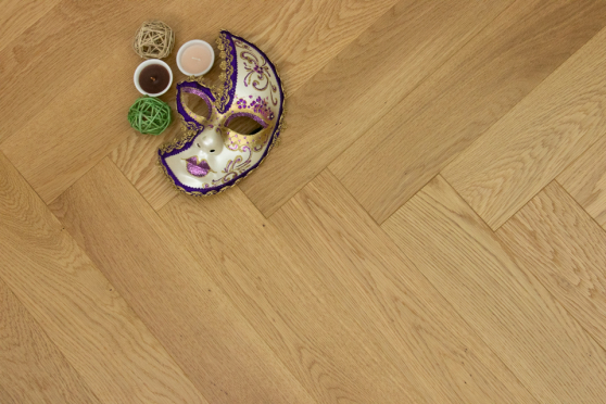 Prime Engineered Flooring Oak Herringbone Brushed UV Lacquered 14/3mm By 98mm By 790mm FL2825 5