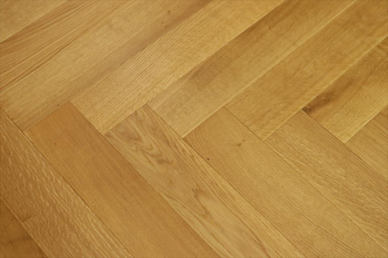 Prime Engineered Flooring Oak Herringbone Brushed UV Matt Lacquered 14/3mm By 98mm By 588mm FL3152 1